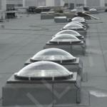 světlovody ALLUX 850 Plus - výrobní hala