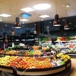 světlovod ALLUX 850 Plus - osvětlení oddělení ovoce v obchodním domě