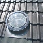 světlovod ALLUX 350 Flexi - instalace v šikmé střeše se střešní taškou