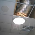 světlovod ALLUX 550 Flexi (před dokončením montáže)