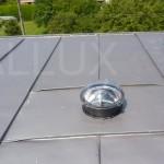 světlovod ALLUX 250 - v šikmé střeše s falcovanou krytinou