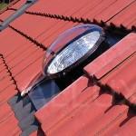 světlovod ALLUX 350 - ve střešní tašce