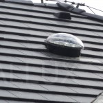 světlovod ALLUX 350 - Praha Hostivice - aplikace do ploché střešní tašky