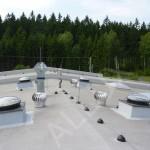 světlovod ALLUX 550 Plus - hala pro testování vody