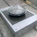 světlovod ALLUX 550 Flexi - výrobní hala