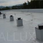 světlovody ALLUX 250 - hasiči Liberec - víceúčelová hala
