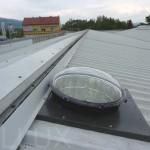 světlovod ALLUX 550 PLUS - hala Teplice