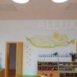 Mateřská školka - světlovody ALLUX 550 Kombi