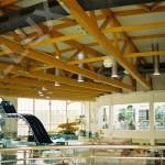 světlovody ALLUX 550 Flexi - volné zavěšení nad bazénem
