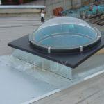 Světlovod ALLUX 850 Plus - umístění v šikmé střeše s trapézovým plechem