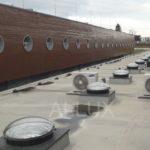 světlovody ALLUX 550 - Sportcentrum Račice
